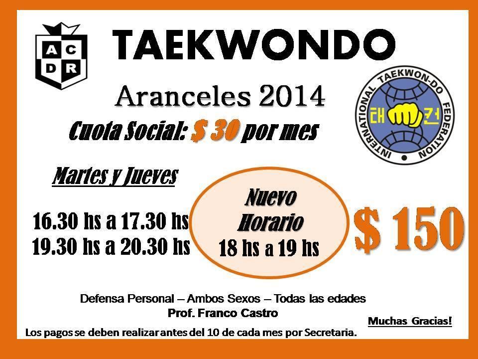 taek_nuevo_horario